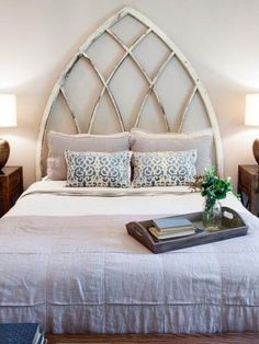 Fixer Upper | rustic | bedroom | headboard ideas | vintage | farmhouse home decor
