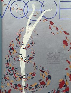 Photograph - A Vintage Vogue Magazine Cover Of A Naked Woman by William Bolin , Vogue Vintage, Capas Vintage Da Vogue, Vintage Vogue Covers, Art Vintage, Poster Vintage, Art Deco Illustration, Fashion Illustration Vintage, Magazine Illustration, Fashion Illustrations