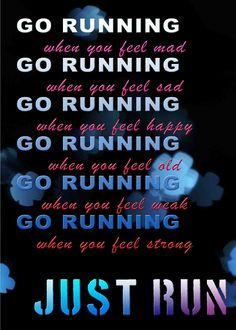 Just Run.
