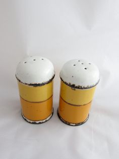Stonehenge Midwinter Sun Salt and Pepper Shakers by ModernSquirrel, $28.00