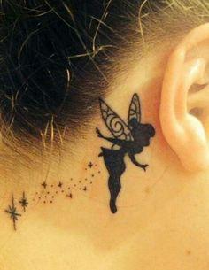 Tatuajes Detrás de la Oreja Sorprendentes