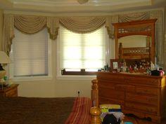 Como hacer una cenefa o cortina drapeada Parte 1/3 - La receta de la abu... Window Coverings, Window Treatments, Interior Exterior, Valance Curtains, Windows, Pattern, Home Decor, Sewing, Ideas