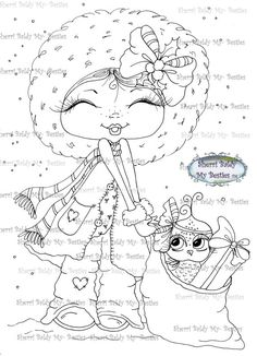 Download Digital Digi Stamps Big Eye sherri Baldy