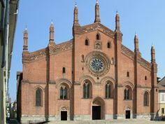Church of Santa Maria del carmine, Pavia, Italy.