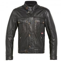 Hein Gericke Mens Speedware Donington Leather Motorcycle Jacket