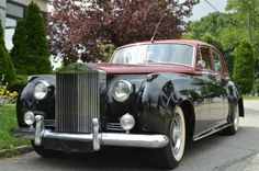 # 18666  1958 Rolls-Royce Silver Cloud I LHD with 79K original miles. This is an excellent original car, repainted seven years ago, all work done by Rolls-Royce specialist. It is black over burgundy. For only $34,750.