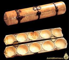 Estuche de juegos para la hija de Abd al-Rahman III. Siglo XX