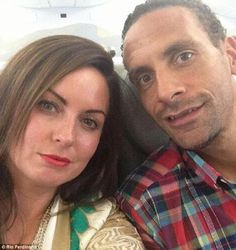 """""""My soulmate slipped away last night,"""" Rio Ferdinand former Manchester United captain said after his his wife, Rebecca Ellison passed away after battling cancer, our prayers are with the family #rip #rioferdinand #manchester #sports #celebrities #entertainment #hollywood #socialmedia #Socialglims #technology #socialmediamarketing #dubai #mydubai #expo2020  #dubai #trending #family"""