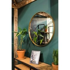 Spinder Design Donna 5 - Spiegel - Rond - ø cm - Goud - Spinder Design Donna 5 - Spiegel - Rond - ø cm - Goud - House Design, Mirror Gallery Wall, Wall Mirror, New Room, House Colors, Decoration, Interior Design Living Room, Diy Home Decor, Colors