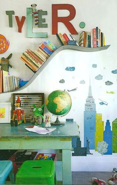 Fun bookshelf!