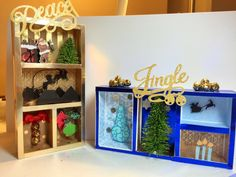 Christmas Shadow Box – Cathy Crafts