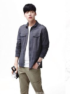 Ahn Jae Hyun for Schneider SS 2015