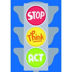 """Stop. Think. Act.""Inspire your students with the powerful message on this beautifully designed and colorful poster!Chart measures 13 x Anti Bullying Activities, Bullying Lessons, Kindergarten Activities, Bullying Quotes, Elementary Counseling, School Counseling, Primary Education, Stop Bullying Posters, Think Poster"