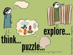From Visible Thinking Routines to 5 Modern Learning Routines  Read more at: http://langwitches.org/blog/2015/01/11/from-visible-thinking-routines-to-5-modern-learning-routines/ | Langwitches Blog
