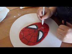 Spiderman in pasta di zucchero - fondant Spiderman - Tutorial Cake Design - YouTube