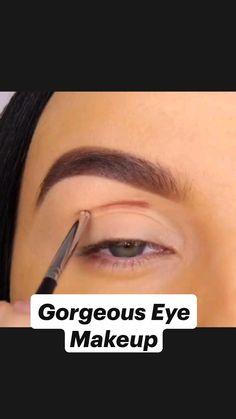 Asian Eye Makeup, Natural Eye Makeup, Eyeliner Tutorial, Eye Tutorial, Eyeliner Looks, Eyeshadow Looks, Gorgeous Eyes, Beautiful, Makeup 101