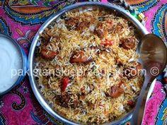 Ryz z kurczakiem - Chicken Biryani
