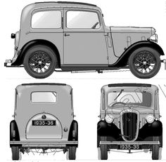 Austin 7 Ruby - if you are rebuilding your Austin 7 Nippy or Austin Special Contour Autocraft fabricate Austin bodywork panels and bespoke classic car panels - www.contourautocraft.co.uk