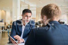 Businessman meeting