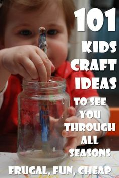 Choose from over a large number of things to make with kids - there are things to make for all seasons, holidays or celebrations. Kids Crafts galore.