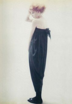Romeo Gigli Spring/Summer 1987 Alison Cohn Ph. Paolo Roversi