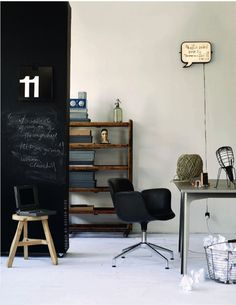 chalkboard  French By Design: Workspace love