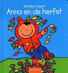 Het is herfst en Anna helpt pappa met bladeren opruimen. Daarna gaan ze met de hond naar het bos. Wat is daar veel te zien en te doen! Prentenboek met eenvoudige illustraties in heldere kleuren. Vanaf ca. 2,5 jaar.