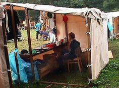 Market stall tent