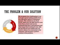 Food Truck Business Plan Example  Comida    Food Truck