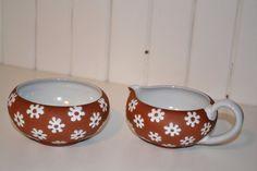 Danish Pottery Zeuthen Daisy creamer and by Scandinaviavandesign, kr250.00