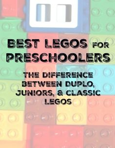 Best Legos for Preschoolers and Kindergarten kids. The difference between duplo, Juniors, and Classic. Which sets should you gift to get a bigger bang for your buck.