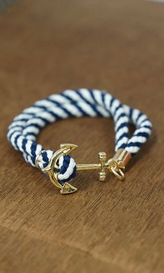 Summer Lovin' Nautical Bracelet, Blue $12                              …