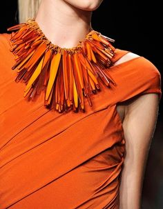 Orange, fashion, detail
