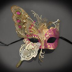 Check out our masquerade masks women selection for the very best in unique or custom, handmade pieces from our shops. Masquerade Masks For Prom, Venetian Masquerade Masks, Masquerade Costumes, Mascarade Mask, Butterfly Mask, Fractal, Laser Cut Metal, Carnival Masks, Mask Design