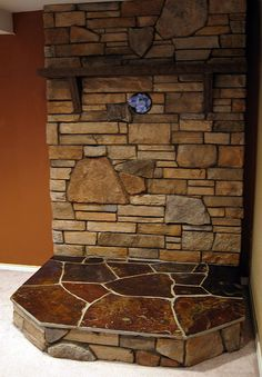 Image detail for -Wood Stove Surround