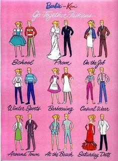 Barbie and Ken cut outs 196 - Bobe Green - Picasa Web Albums Barbie Und Ken, Barbie Box, Play Barbie, Barbie Skipper, Vintage Barbie Dolls, Barbie Dream, Bobe, Barbie Accessories, Barbie Collector