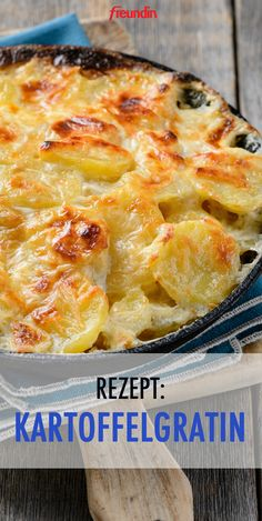 Are you always looking for new and varied side dishes? Then give this creamy potato gratin a try Are you always looking for new and varied side dishes? Then give this creamy potato gratin a try Potato Recipes, Meat Recipes, Crockpot Recipes, Chicken Recipes, Healthy Recipes, Recipe Chicken, Healthy Cooking, Asian Recipes, Cooking Recipes