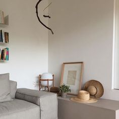 #sundaymood Love this cozy corner with my fave lamp. CESTA by Miguel Milá Pic by @beatrizportabella.