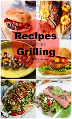 Grilling Recipes featured on Walking on Sunshine Recipes.