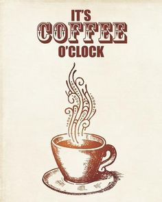 What time is it? It's coffee o'clock! All day, everyday that is. #MrCoffee
