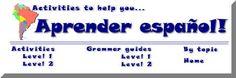 Aprender en español - Bilingual resources to help you learn cool things in Spanish