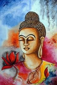 """It is not our differences that divide us. It is our inability to recognize, accept, and celebrate those differences."" ~ Audre Lorde ॐ lis Gautama Buddha, Buddha Buddhism, Buddha Art, Modern Artwork, Contemporary Paintings, Modern Contemporary, Buddha Painting, Painting Canvas, Buddha Drawing"