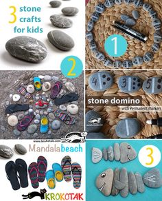 3+Ideas+with+Beach+Pebbles