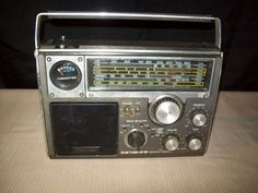 Emerson PM 3950 Multi-band radio from the 1970's. The first full size radio I ever owned.