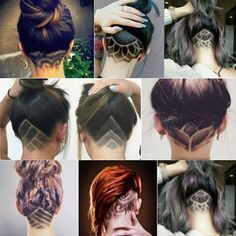 The Undercut Is the Fit-Girl Hair Trend You Need to Try for Summer Get trendy and try this new stylish haircut that is perfect for summer. This haircut style is edgy and fabulous. Get the best of both worlds with short and long hair. Undercut Hairstyles, Pretty Hairstyles, Girl Hairstyles, Undercut Girl, Shaved Undercut, Updo Hairstyle, Wedding Hairstyles, Toddler Hairstyles, Latest Hairstyles