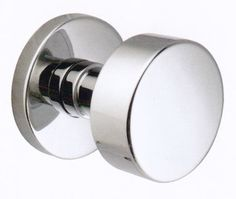 Buy the Emtek Polished Chrome Direct. Shop for the Emtek Polished Chrome Round Knob Brass Modern Privacy Knobset and save. Contemporary Doors, Modern Door, Knobs And Handles, Door Handles, Interior Door Knobs, Interior Design Courses, Polished Chrome, Modern Interior, Hardware