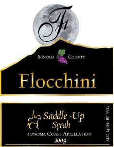 2009 Flocchini Wines Saddle-Up Syrah 750 mL ** To view further for this item, visit the image link.