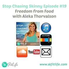 I had the pleasure of spending an hour with Aleka Thorvalson during Episode #19 of the Stop Chasing Skinny Podcast.   If you have ever struggled with your relationship with food in any way, this is a MUST LISTEN.   If you are a fitness professional, I highly encourage you to listen too... this hour will help you to identify if/when your clients are dealing with a bit more than a lack of willpower. Recognizing the signs is important because someone struggling with food issues doesn't need…