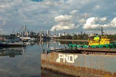 Sydney city from White bay.