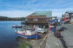 The Dalcahue waterfront on Chiloé Island | heneedsfood.com